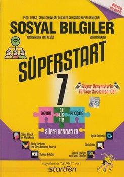 Startfen Yayınları 7. Sınıf Sosyal Bilgiler Süperstart Soru Bankası