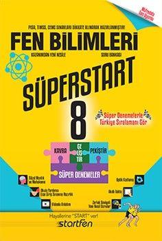 Startfen Yayınları 8. Sınıf Fen Bilimleri Süperstart Soru Bankası
