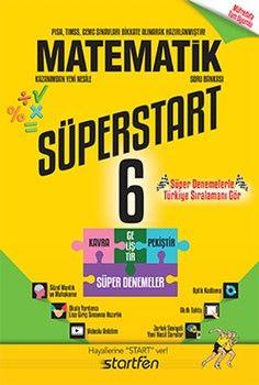 Startfen Yayınları 6. Sınıf Matematik Süperstart Soru Bankası