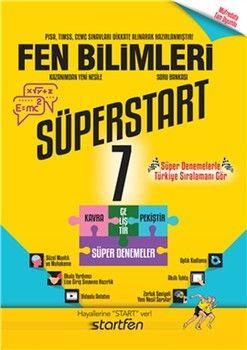 Startfen Yayınları 7. Sınıf Fen Bilimleri Süperstart Soru Bankası
