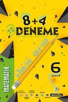 Startfen Yayınları 6. Sınıf Matematik 8 + 4 Elmas Serisi Deneme