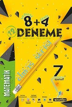 Startfen Yayınları 7. Sınıf Matematik 8 + 4 Elmas Serisi Deneme