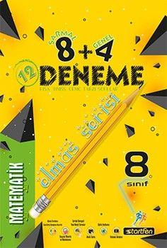 Startfen Yayınları 8. Sınıf Matematik 8 + 4 Elmas Serisi Deneme