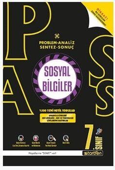 Startfen Yayınları 7. Sınıf Sosyal Bilgiler PASS Soru Bankası