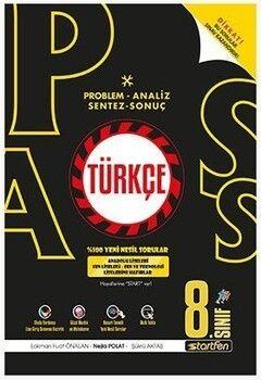 Startfen Yayınları 8. Sınıf Türkçe PASS Soru Bankası