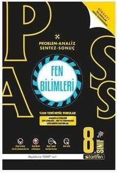 Startfen Yayınları 8. Sınıf Fen Bilimleri PASS Soru Bankası