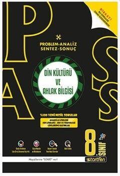 Startfen Yayınları 8. Sınıf Din Kültürü ve Ahlak Bilgisi PASS Soru Bankası