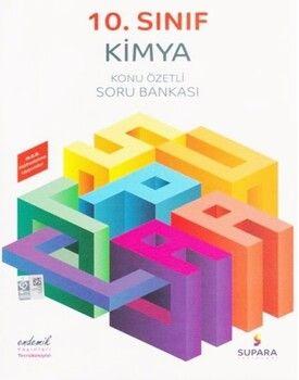 Supara Yayınları 10. Sınıf Kimya Konu Özetli Soru Bankası