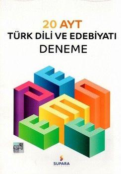 Supara Yayınları AYT Türk Dili ve Edebiyatı 20 li Deneme