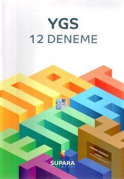 Supara Yayınları YGS Matematik 12 Deneme