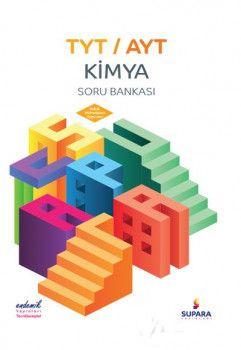 Supara Yayınları YKS 1. ve 2. Oturum TYT AYT Kimya Soru Bankası