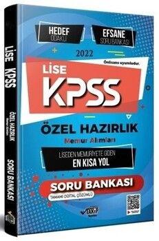 Takip Yayınları 2022 KPSS Lise Özel Hazırlık Hedef Odaklı Efsane Soru Bankası Memuriyete Giden En Kısa Yol