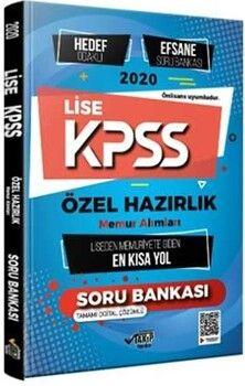Takip Yayınları KPSS 2020 Lise Özel Hazırlık Hedef Odaklı Efsane Soru Bankası Memuriyete Giden En Kısa Yol