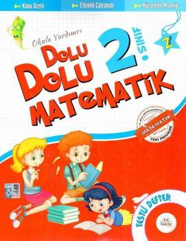 Talebe Yayınları 2. Sınıf Dolu Dolu Matematik Testli Defter
