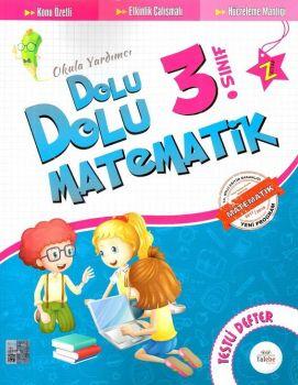 Talebe Yayınları 3. Sınıf Dolu Dolu Matematik Testli Defter
