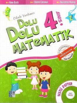Talebe Yayınları 4. Sınıf Dolu Dolu Matematik Testli Defter