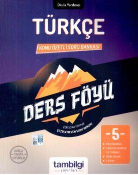 Tambilgi Yayınları 5. Sınıf Türkçe Konu Özetli Soru Bankası