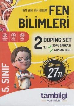 Tambilgi Yayınları 5. Sınıf Fen Bilimleri 2 li Doping Set