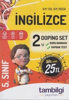 Tambilgi Yayınları 5. Sınıf İngilizce 2 li Doping Set