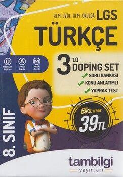 Tambilgi Yayınları 8. Sınıf Türkçe Doping Set