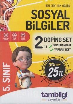 Tambilgi Yayınları 5. Sınıf Sosyal Bilgiler 2 li Doping Set