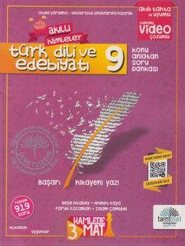 Tammat Yayıncılık 9. Sınıf Türk Dili ve Edebiyatı Akıllı Hamleler Konu Anlatan Soru Bankası