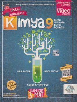 Tammat Yayıncılık 9. Sınıf Kimya Akıllı Hamleler Konu Anlatan Soru Bankası