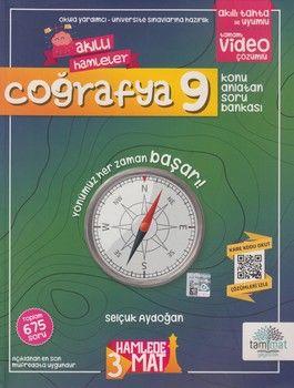 Tammat Yayıncılık 9. Sınıf Coğrafya Akıllı Hamleler Konu Anlatan Soru Bankası
