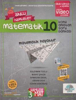 Tammat Yayıncılık 10. Sınıf Matematik Akıllı Hamleler Konu Anlatan Soru Bankası