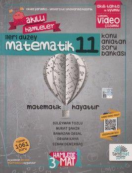 Tammat Yayıncılık 11. Sınıf Matematik Akıllı Hamleler Konu Anlatan Soru Bankası