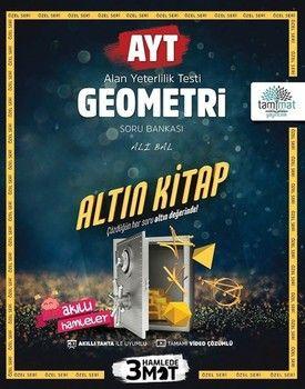 Tammat Yayıncılık AYT Geometri Soru Bankası Altın Kitap