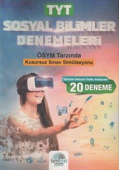 Tammat Yayıncılık TYT Sosyal Bilimler 20 li Denemeleri
