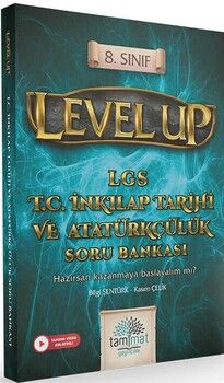 Tammat Yayıncılık 8. Sınıf LGS T.C. İnkılap Tarihi ve Atatürkçülük Level Up Soru Bankası