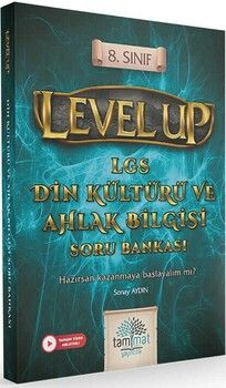 Tammat Yayıncılık 8. Sınıf LGS Din Kültürü ve Ahlak Bilgisi Level Up Soru Bankası