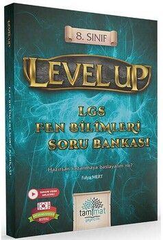 Tammat Yayıncılık 8. Sınıf LGS Fen Bilimleri Level Up Soru Bankası