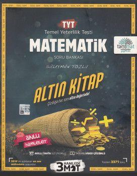 Tammat Yayıncılık TYT Matematik Altın Kitap Tamamı Video ÇözümlüSoru Bankası