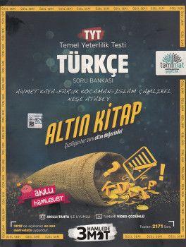 Tammat Yayıncılık TYT Türkçe Altın Kitap Tamamı Video Çözümlü Soru Bankası
