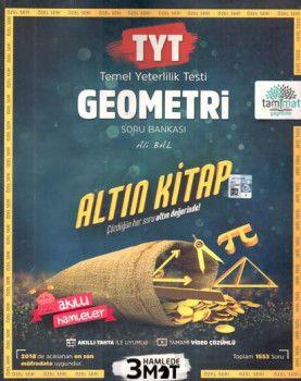 Tammat Yayıncılık TYT Geometri Altın Kitap Tamamı Video Çözümlü Soru Bankası