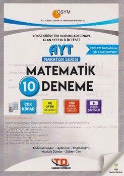 Tandem Yayınları AYT Matematik 10 lu Maraton Serisi Deneme