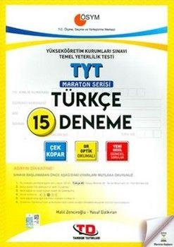 Tandem Yayınları TYT Türkçe 15'li Maraton Serisi Deneme