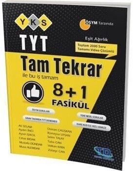 Tandem Yayınları TYT Eşit Ağırlık Tam Tekrar 8+1 Fasikül