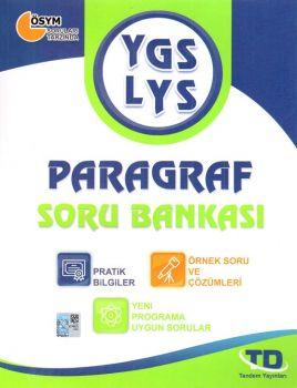 Tandem Yayınları YGS LYS Paragraf Soru Bankası