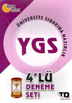 Tandem Yayınları YGS 4 lü Deneme Seti