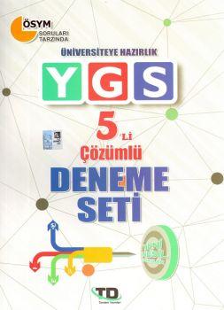 Tandem Yayınları YGS 5 li Çözümlü Deneme Seti