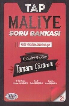 Tap Yayınları KPSS A Grubu TAP Maliye Soru Bankası