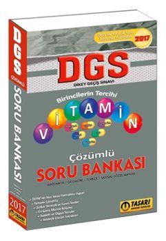Tasarı Yayınları DGS 2017 Vitamin Çözümlü Soru Bankası