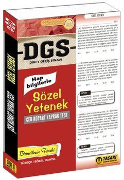 Tasarı Yayınları 2017 DGS Hap Bilgilerle Sözel Yetenek Çek Kopart Yaprak Test