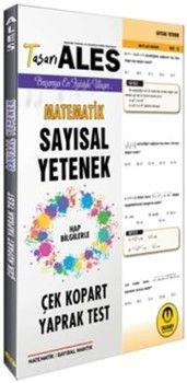 Tasarı Yayınları ALES Matematik Sayısal Yetenek Çek Kopart Yaprak Test