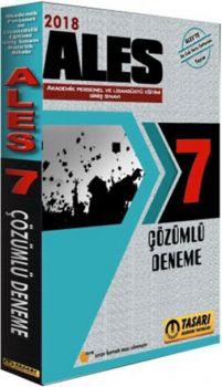 Tasarı Yayınları 2018 ALES Tamamı Çözümlü 7 Deneme Sınavı