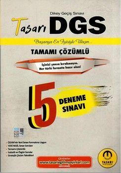 Tasarı Yayınları DGS Tamamı Çözümlü 5 Deneme Sınavı